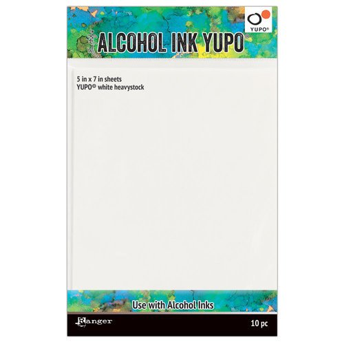 Ranger Ink - Tim Holtz - Alcohol Ink Yupo Paper - 5 x 7 - 10 Pack