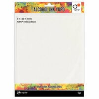 Ranger Ink - Tim Holtz - Alcohol Ink Yupo Paper - 8 x 10 - 5 Pack