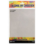 Ranger Ink - Tim Holtz - Alcohol Ink Cardstock - Silver Sparkle