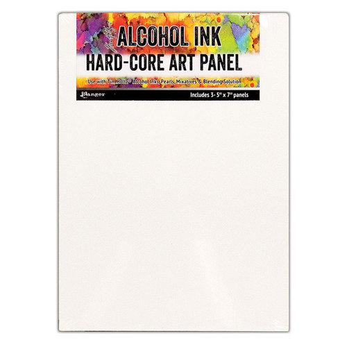 Ranger Ink - Tim Holtz - Hard Core Art Panel - 5 x 7 - 3 Pack
