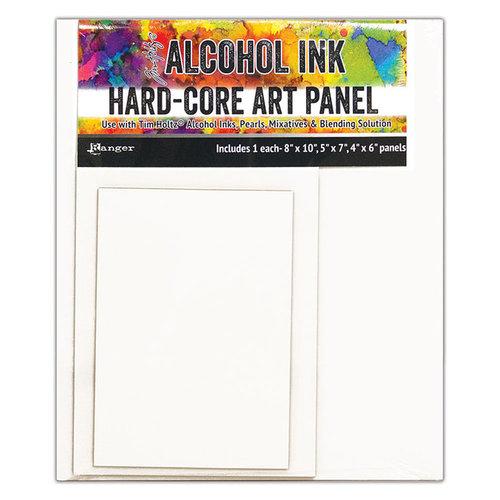 Ranger Ink - Tim Holtz - Hard Core Art Panel - Rectangle - 3 Pack