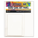 Ranger Ink - Tim Holtz - Hard Core Art Panel - Rectangle - 3 Pack
