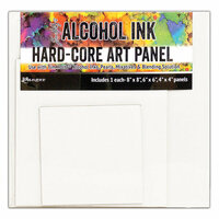 Ranger Ink - Tim Holtz - Hard Core Art Panel - Square - 3 Pack