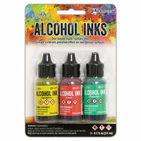 Ranger Ink - Tim Holtz - Adirondack Alcohol Inks - 3 Pack - Key West