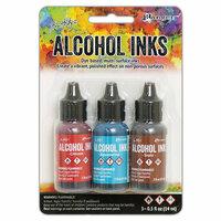 Ranger Ink - Tim Holtz - Adirondack Alcohol Inks - 3 Pack - Rodeo