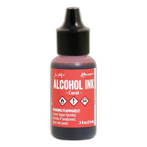 Ranger Ink - Tim Holtz - Adirondack Alcohol Inks - Coral