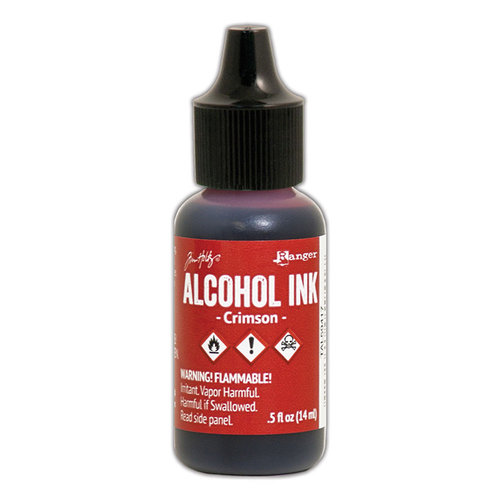 Ranger Ink - Tim Holtz - Adirondack Alcohol Inks - Crimson