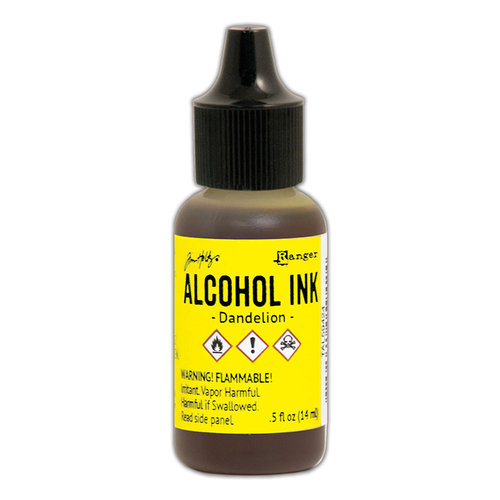 Ranger Ink - Tim Holtz - Adirondack Alcohol Inks - Dandelion