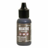 Ranger Ink - Tim Holtz - Adirondack Alcohol Inks - Metallic Mixatives - Gunmetal