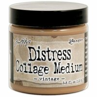 Ranger Ink - Tim Holtz - Distress Collage Medium - Vintage