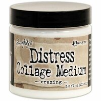 Ranger Ink - Tim Holtz - Distress Collage Medium - Crazing
