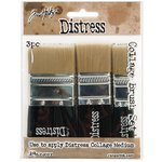 Ranger Ink - Tim Holtz - Distress Collage Brush - 3 Pack Assortment