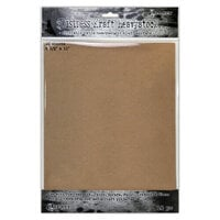 Ranger Ink - Tim Holtz - Distress Kraft Heavystock - 8.5 x 11