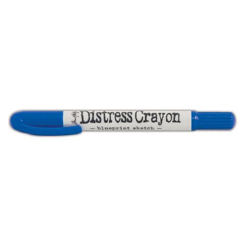 Ranger Ink - Tim Holtz - Distress Crayons - Blueprint Sketch