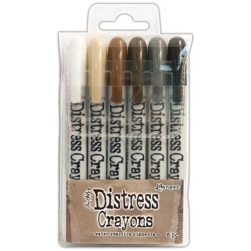 Ranger Ink - Tim Holtz - Distress Crayons - Set 3