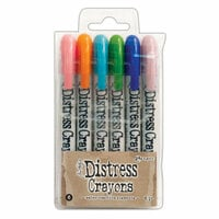 Ranger Ink - Tim Holtz - Distress Crayons - Set 6
