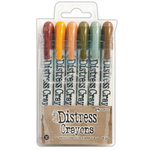 Ranger Ink - Tim Holtz - Distress Crayons - Set 10