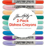 Ranger Ink - Tim Holtz - Distress Crayons - 2 Pack - Random Selection