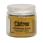 Ranger Ink - Tim Holtz - Distress Embossing Glaze - Fossilized Amber