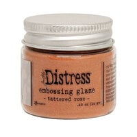 Ranger Ink - Tim Holtz - Distress Embossing Glaze - Tattered Rose