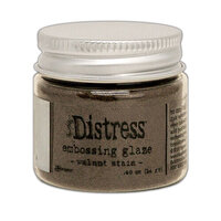 Ranger Ink - Tim Holtz - Distress Embossing Glaze - Walnut Stain