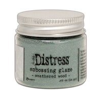 Ranger Ink - Tim Holtz - Distress Embossing Glaze - Weathered Wood