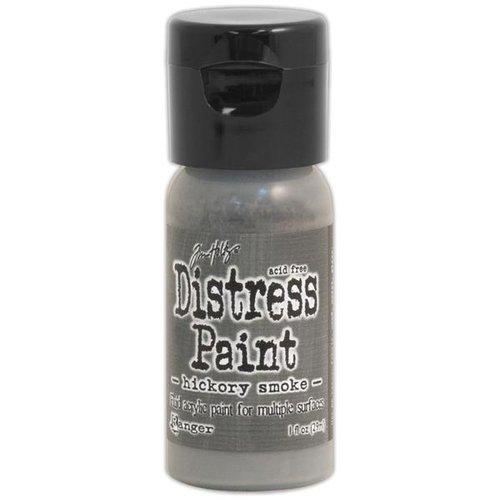 Ranger Ink - Tim Holtz - Distress Paint - Mini - Flip Cap - Hickory Smoke