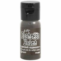 Ranger Ink - Tim Holtz - Distress Paint - Mini - Flip Cap - Ground Espresso