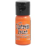 Ranger Ink - Tim Holtz - Distress Paint - Mini - Flip Cap - Carved Pumpkin