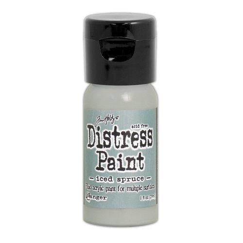 Ranger Ink - Tim Holtz - Distress Paint - Mini - Flip Cap - Iced Spruce