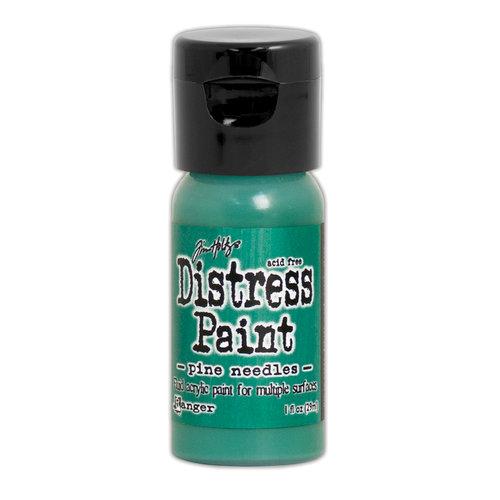Ranger Ink - Tim Holtz - Distress Paint - Mini - Flip Cap - Pine Needles