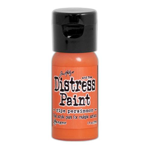 Ranger Ink - Tim Holtz - Distress Paint - Mini - Flip Cap - Ripe Persimmon