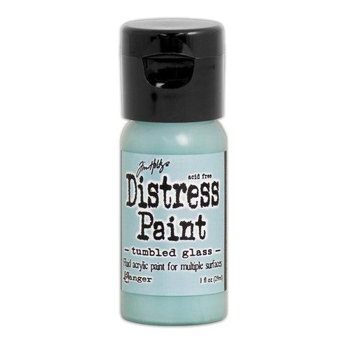 Ranger Ink - Tim Holtz - Distress Paint - Mini - Flip Cap - Tumbled Glass