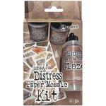 Ranger Ink - Tim Holtz - Distress Paper Mosaic Kit