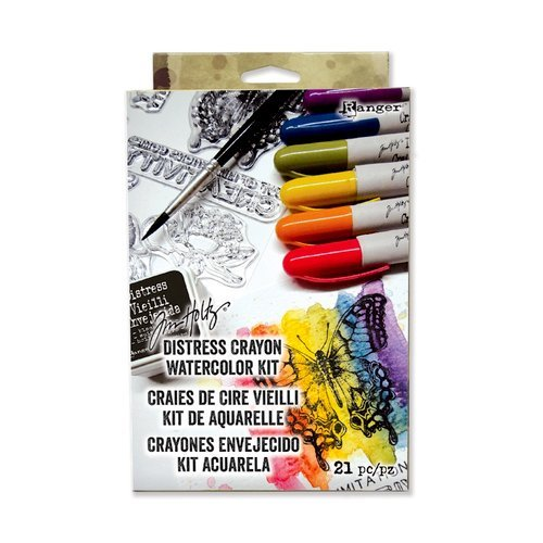 Ranger Ink - Tim Holtz - Distress Crayon Watercolor Kit