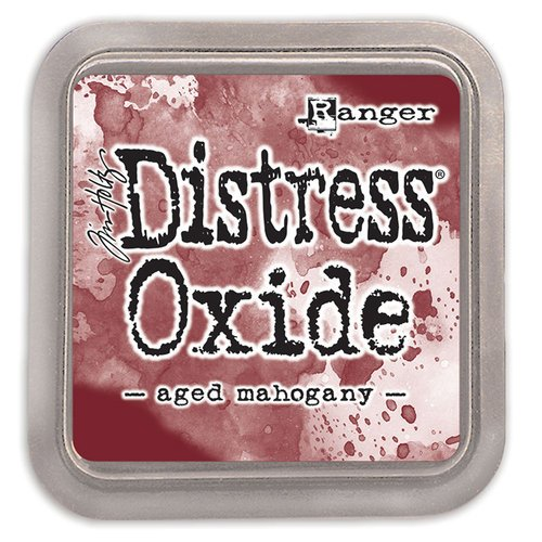 Ranger Ink - Tim Holtz - Distress Oxides Ink Pads - Aged Mahogany