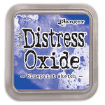 Ranger Ink - Tim Holtz - Distress Oxides Ink Pads - Blueprint Sketch