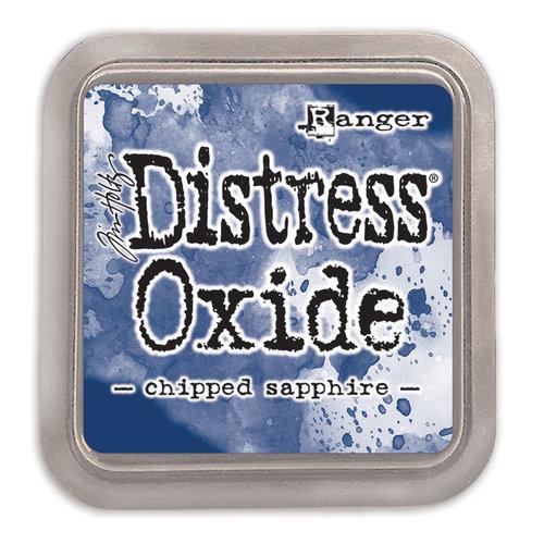 Ranger Ink - Tim Holtz - Distress Oxides Ink Pads - Chipped Sapphire