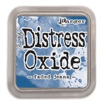 Distress Oxide-Faded Jeans