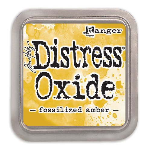 Ranger Ink - Tim Holtz - Distress Oxides Ink Pads - Fossilized Ambe