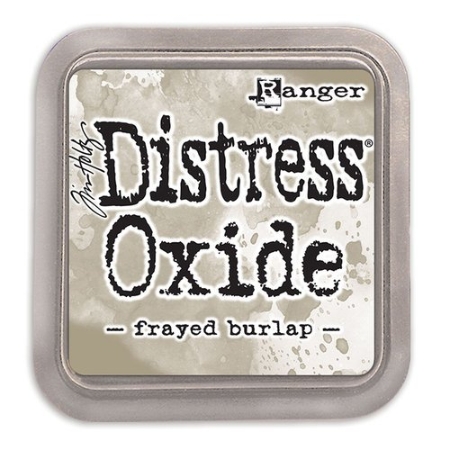Ranger Ink - Tim Holtz - Distress Oxides Ink Pads - Frayed Burlap
