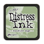 Ranger Ink - Tim Holtz - Distress Ink Pads - Mini - Bundled Sage