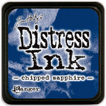Ranger Ink - Tim Holtz - Distress Ink Pads - Mini - Chipped Sapphire