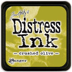 Ranger Ink - Tim Holtz - Distress Ink Pads - Mini - Crushed Olive