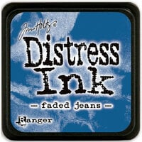 Ranger Ink - Tim Holtz - Distress Ink Pads - Mini - Faded Jeans