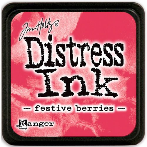 Ranger Ink - Tim Holtz - Distress Ink Pads - Mini - Festive Berries