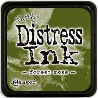 Ranger Ink - Tim Holtz - Distress Ink Pads - Mini - Forest Moss