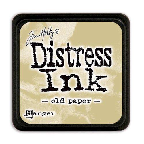 Ranger Ink - Tim Holtz - Distress Ink Pads - Mini - Old Paper