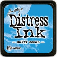 Ranger Ink - Tim Holtz - Distress Ink Pads - Mini - Salty Ocean