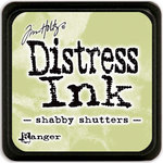 Ranger Ink - Tim Holtz - Distress Ink Pads - Mini - Shabby Shutters